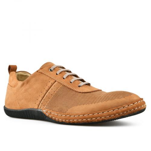 мъжки ежедневни обувки кафяви 0144265