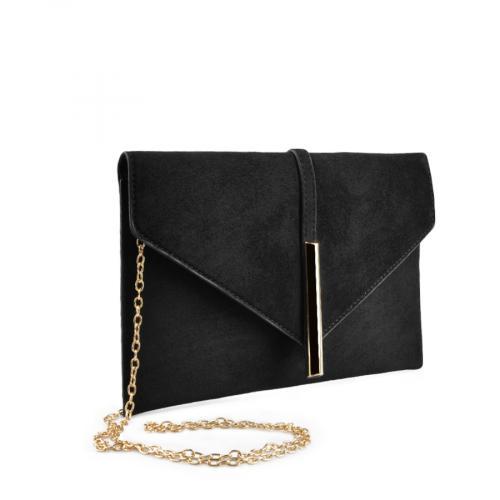 дамска  елегантна чанта черна 0136753