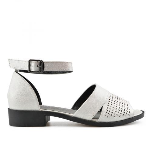 дамски ежедневни сандали бели 0143283