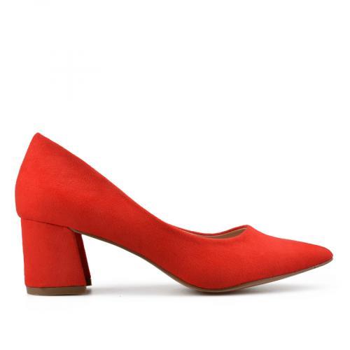дамски елегантни обувки червени 0138110