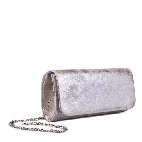 дамска елегантна чанта златиста 0134381