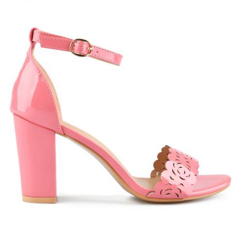 дамски елегантни сандали розови 0143260