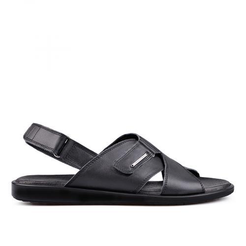 мъжки сандали черни 0132057