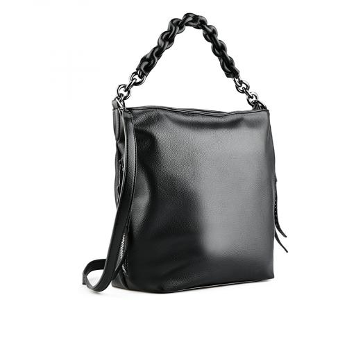 дамска ежедневна чанта черна 0141892