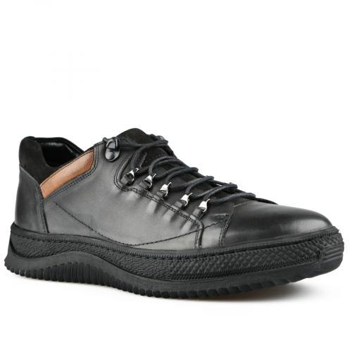 мъжки ежедневни обувки черни 0142134