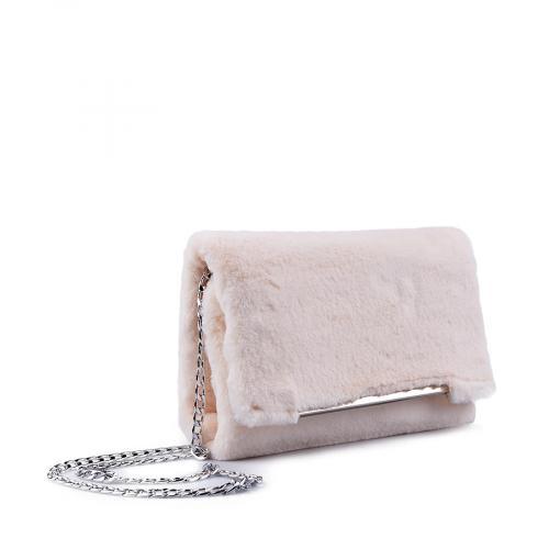 дамска елегантна чанта бежова 0134400