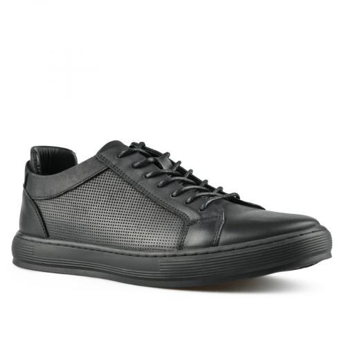 мъжки ежедневни обувки черни 0143465