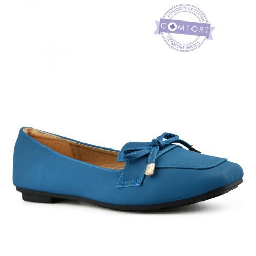 дамски ежедневни обувки сини 0143080