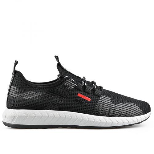 мъжки ежедневни обувки черни 0136919
