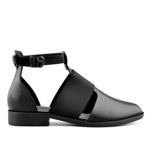 дамски ежедневни сандали черни 0140439