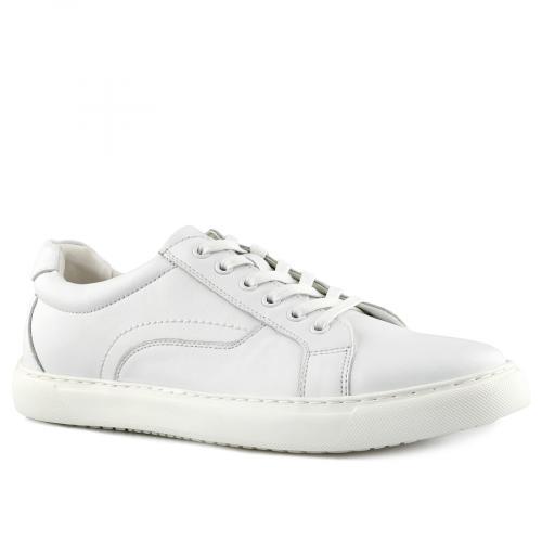 мъжки ежедневни обувки бели 0140737