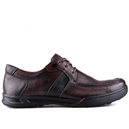 мъжки ежедневни обувки кафяви 0128777