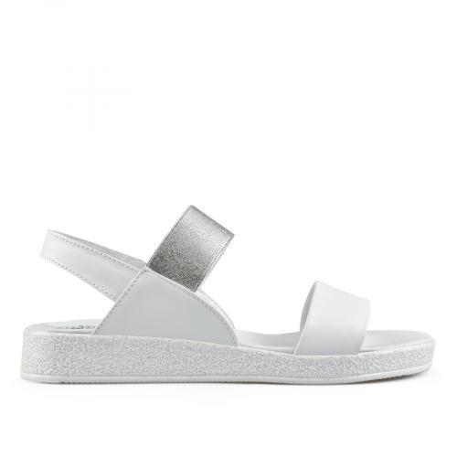 дамски ежедневни сандали бели 0138517