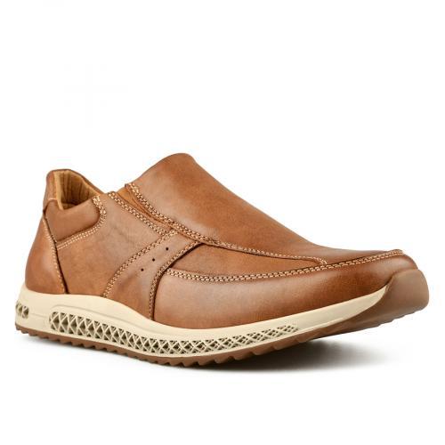 мъжки ежедневни обувки кафяви 0144923