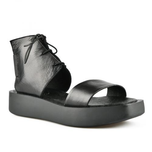дамски ежедневни сандали черни 0144405