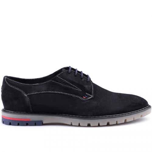 мъжки ежедневни обувки тъмно сини 0125875
