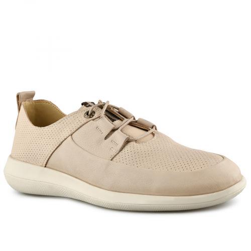 мъжки ежедневни обувки бежови 0141186