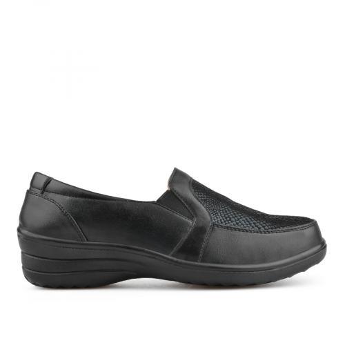 дамски ежедневни обувки черни 0135813