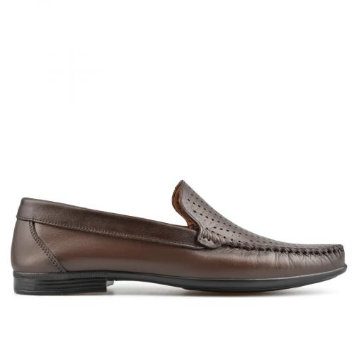 мъжки ежедневни обувки кафяви 0138268