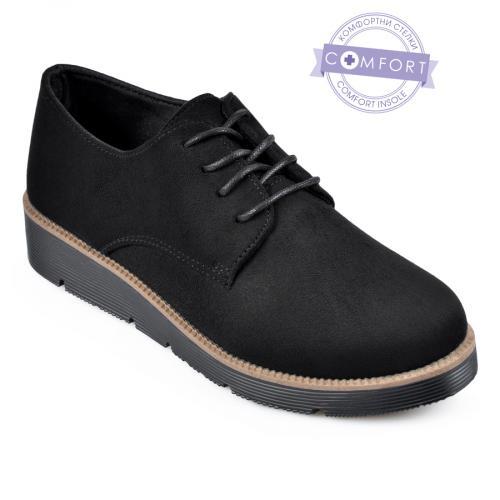 дамски ежедневни обувки черни 0141535