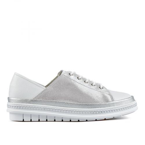 дамски ежедневни обувки бели 0137216