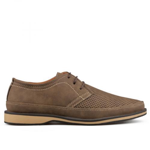 мъжки ежедневни обувки кафяви 0136979