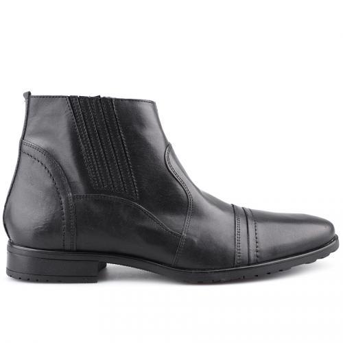 мъжки елегантни боти черни 0121421