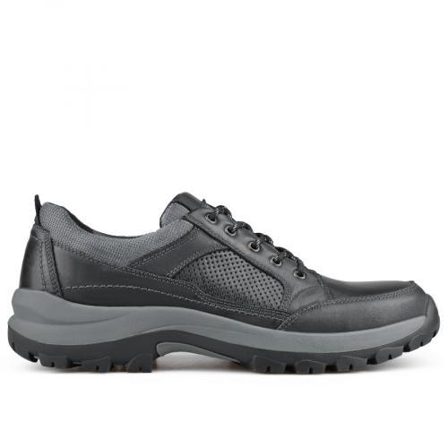мъжки ежедневни обувки черни 0135794