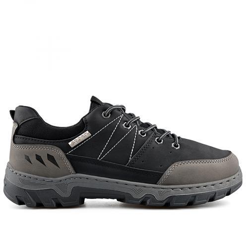 мъжки ежедневни обувки черни 0138879
