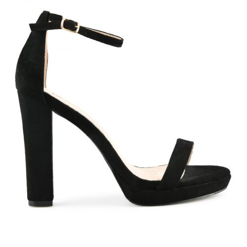 дамски елегантни сандали черни 0140071