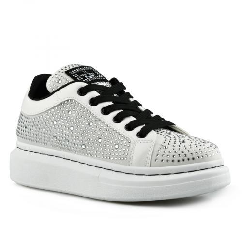 дамски ежедневни обувки бели 0142764