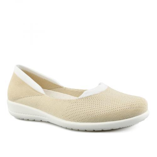дамски ежедневни обувки бежови 0142026