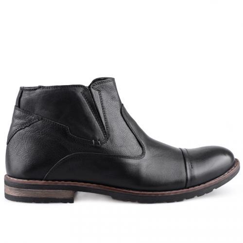 мъжки елегантни боти черни 0126000