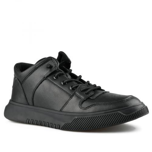 мъжки ежедневни обувки черни 0142189