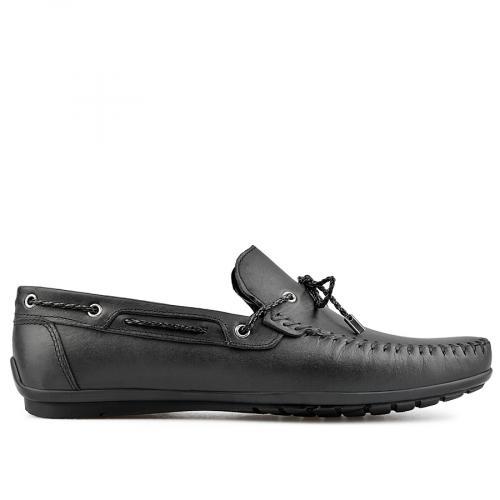 мъжки ежедневни обувки черни 0138280
