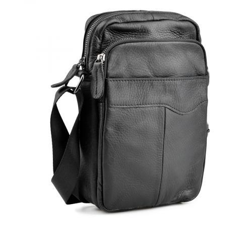 мъжка ежедневна чанта черна 0138047