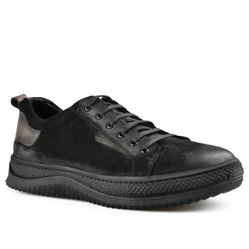 мъжки ежедневни обувки черни 0142135