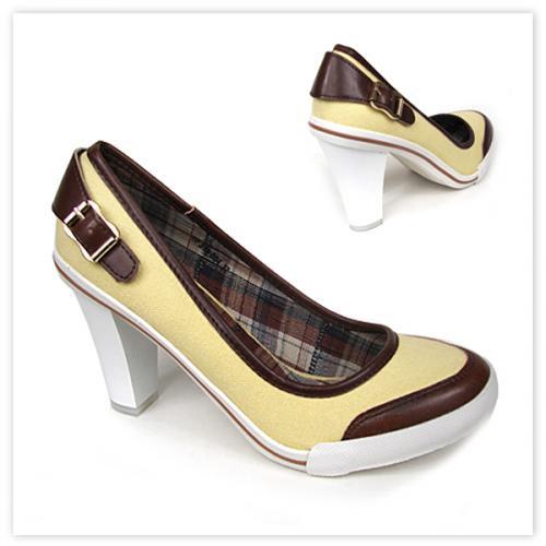 дамски ежедневни обувки жълти 0106493
