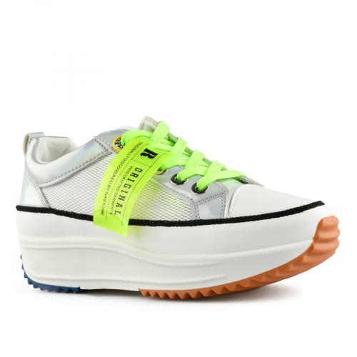 дамски ежедневни обувки бели 0140528