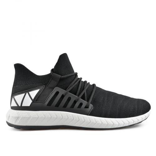 мъжки ежедневни обувки черни 0136947