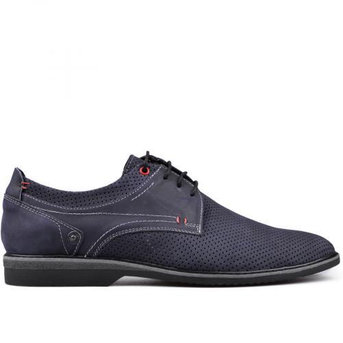 мъжки ежедневни обувки сини 0131111