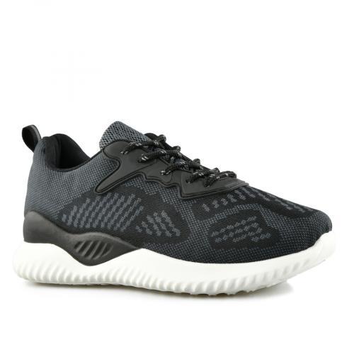дамски ежедневни обувки черни 0140077