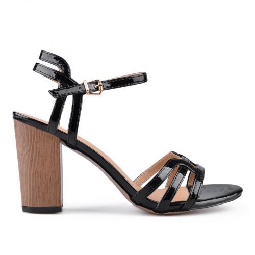 дамски елегантни сандали черни 0133752