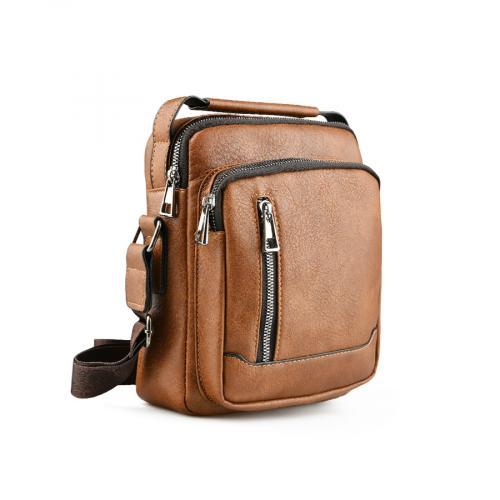 мъжка ежедневна чанта кафява 0141594