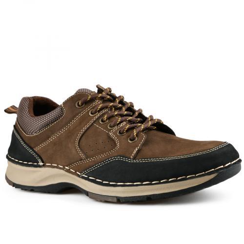 мъжки ежедневни обувки кафяви 0142107