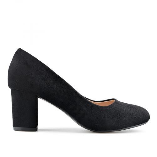 дамски елегантни обувки черни 0139145