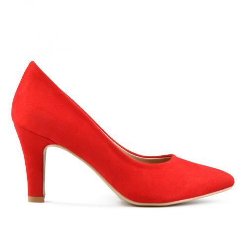 дамски елегантни обувки червени 0143297
