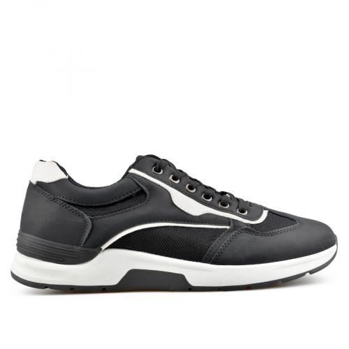 мъжки ежедневни обувки черни 0136922