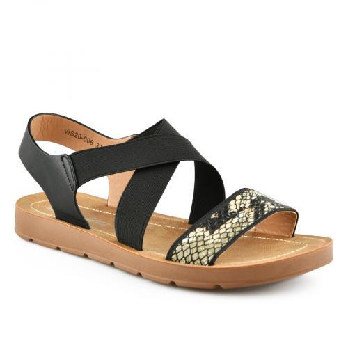 дамски ежедневни сандали черни 0140844