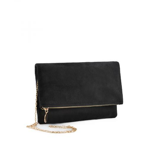 дамска  елегантна чанта черна 0139349
